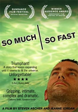 So Much So Fast film - poster