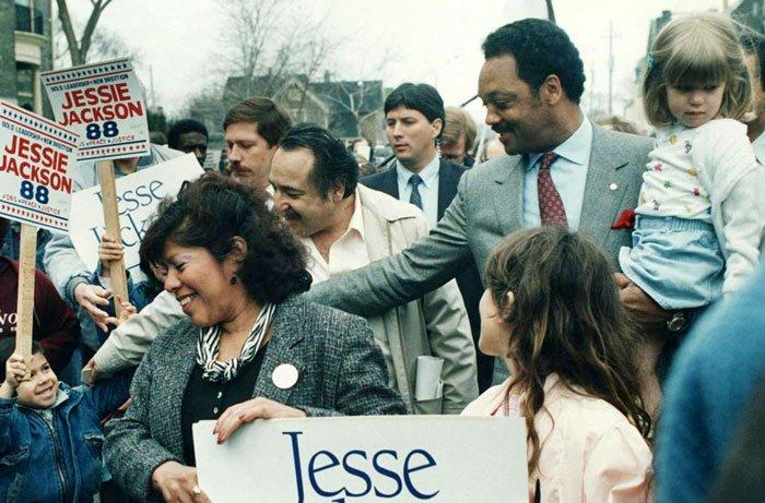 Running with Jesse - Jesse Jackson campaign